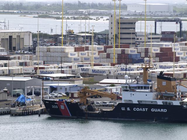Matson and Horizon monopolize Hawaii's shipping market because of the Jones Act Photo: Emily Metcalf