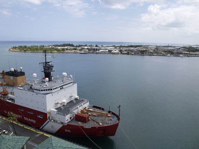 Coast Guard Honolulu Harbor Photo: Emily Metcalf