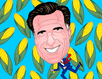 Mitt Romney in Iowa, Iowa Caucus, Mitt Romney running for Republication nomination