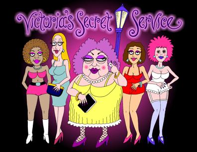 Cartoon about Secret Service prostitution scandal