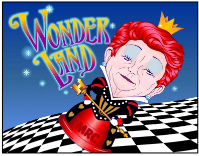 MRC Greenwood carton, UH President is petulant Red Queen in Wonderland