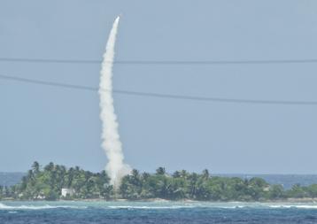 missile defense flight test