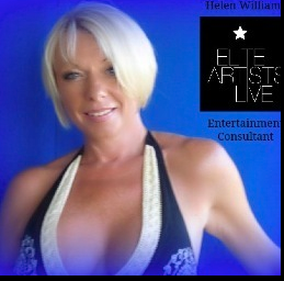 Helen Williams, Managing Director and founder of Elite Artists Live.