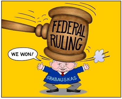 Daniel Grabauska, Honolulu rail czar gets bonked by Federal Court ruling, still claims victory