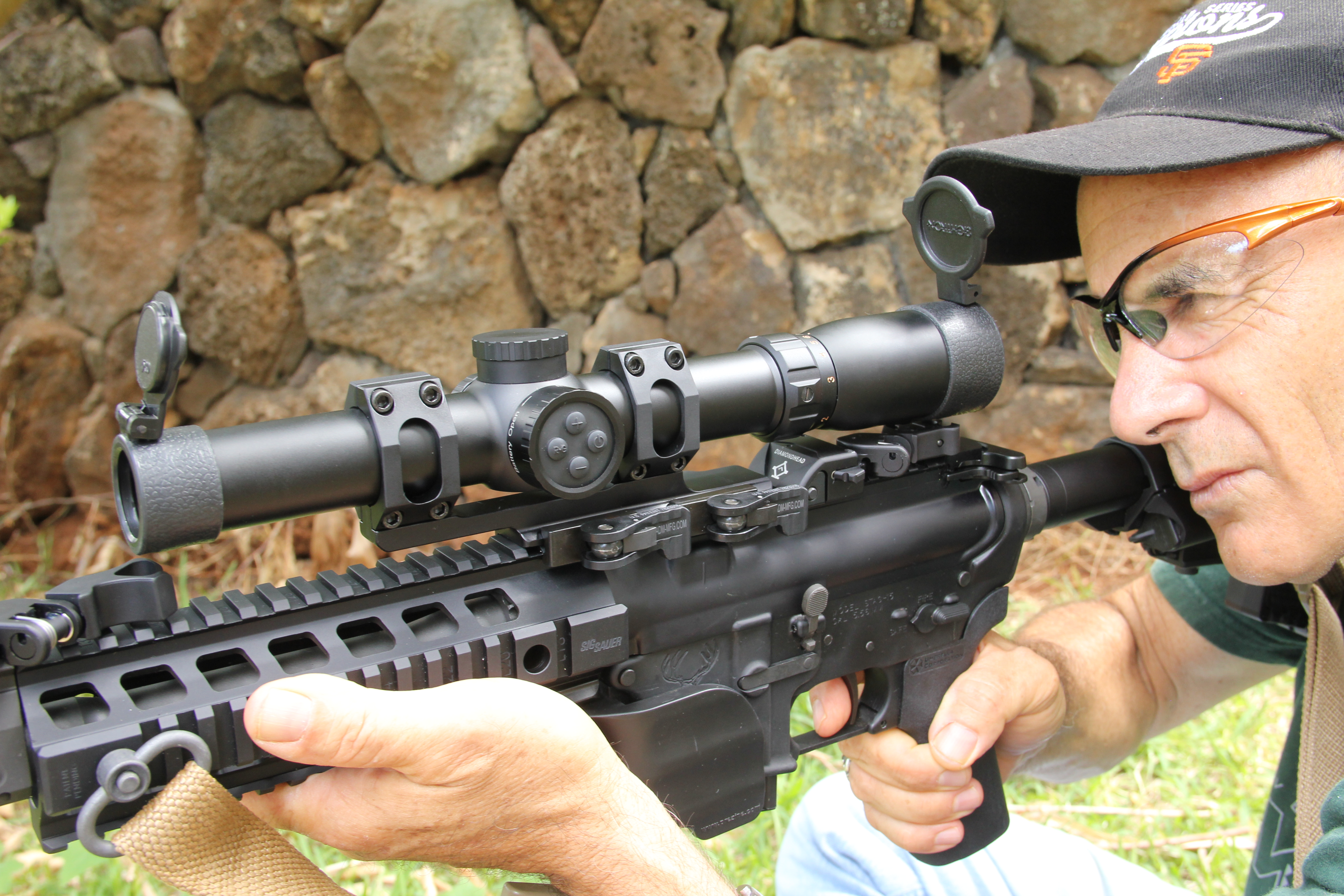 The Sightron SIII 1 7x24mm IRMOA Is A Sturdy Unit Fit For Hunting 3 Gun And Range Work At Reasonably Price