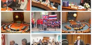 Hawaii State Legislature collage