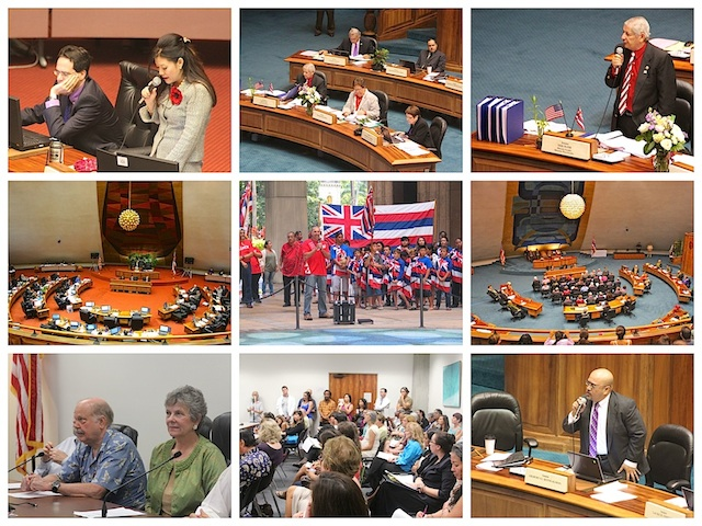 Hawaii State Legislature collage