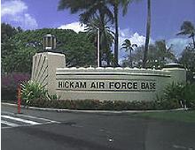 Hickam Air Force Base Hawaii