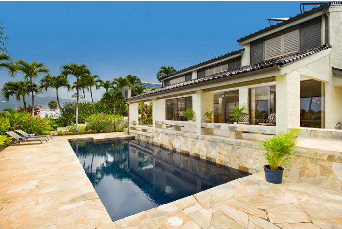 15 Poipu Drive in Koko Kai. This 4 bedroom, 3 bath home is 3,965 square feet and listed at $3,128,000.