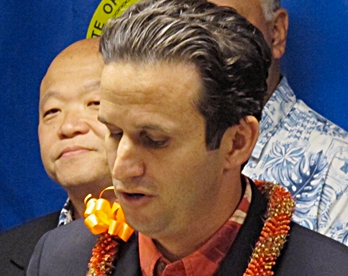 PUSHING BACK: U.S. Sen Brian Schatz is among several Senate Democrats trying to counter the U.S. Supreme Court's ruling in the Hobby Lobby case.