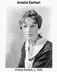 Amelia Earhart in 1935