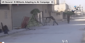 IS Militants Adapting to Air Campaign