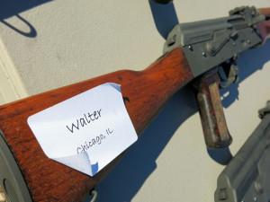 Walter's gun