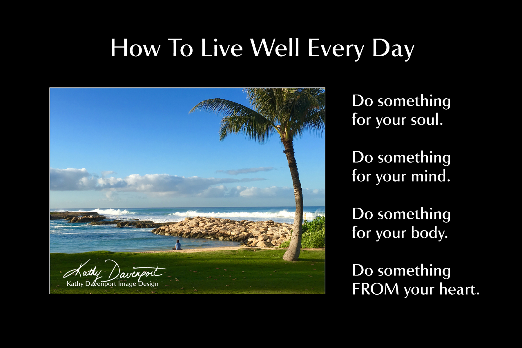 How to live well 50