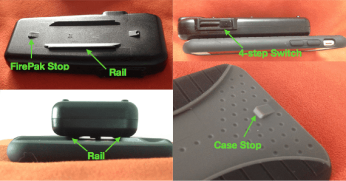 SureFire video light and mounting case