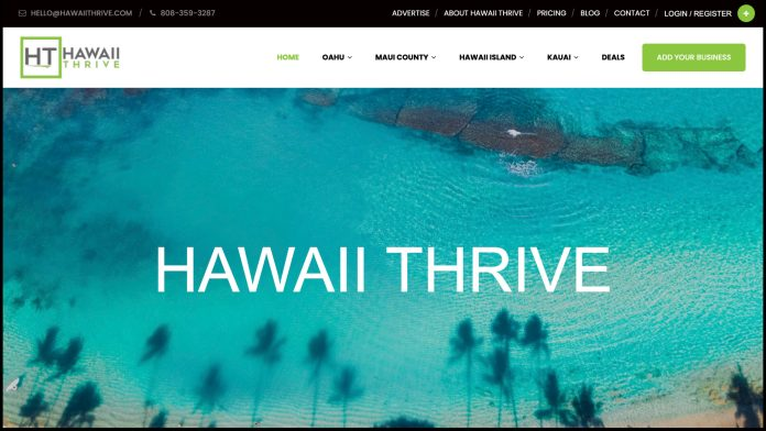 Hawaii Thrive launches to promote Hawaii small businesses