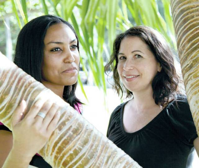 File In This Dec 19 2011 File Photo Taeko Bufford Left And Diane Cervelli Pose For A Photo Near Waikiki Beach In Honolulu
