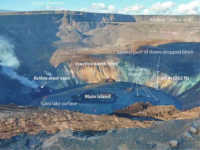 Volcano Watch: Kilauea's ongoing eruption: A rising lava lake
