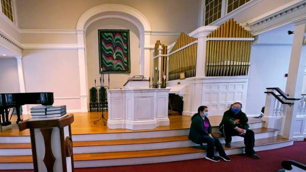 Immigrants in sanctuary in churches hope Biden offers relief