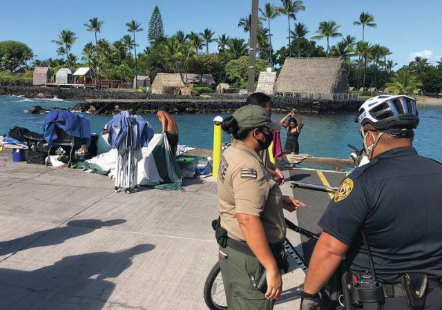 State proposes temporary night closure of Kailua Pier