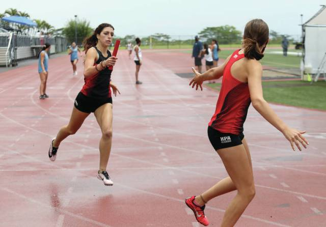 BIIF track and field: Kealakehe's Young, HPA's Hare the stars of the show