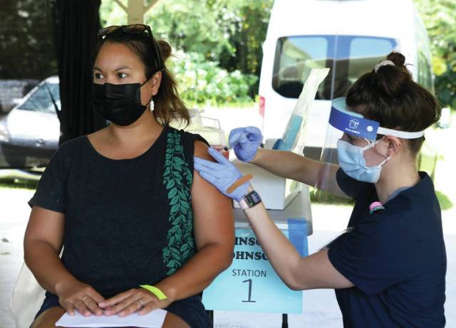 Bay Clinic works to vaccinate isle youth