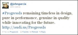 John Garcia's Winning Tweet