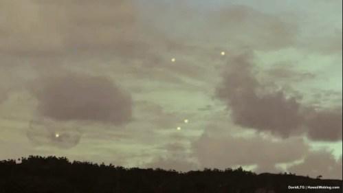 UFO Over Oahu?
