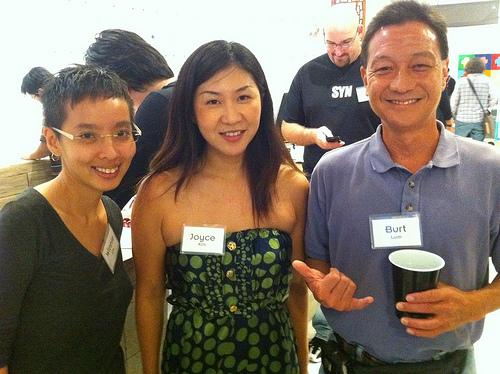 Winnie Lim, Joyce Kim, and Burt Lum