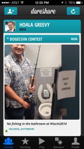 DareShare Dogecoin Contest