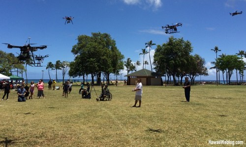 UAVs at the Hawaii Geek Meet