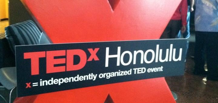 TEDxHonolulu   Photo by Burt Lum