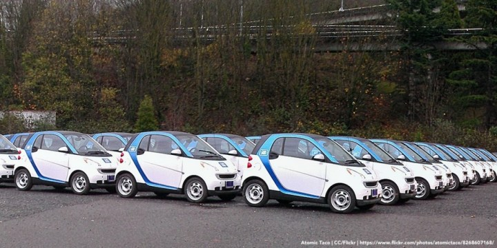 Car2Go Cars - Photo by Atomic Taco