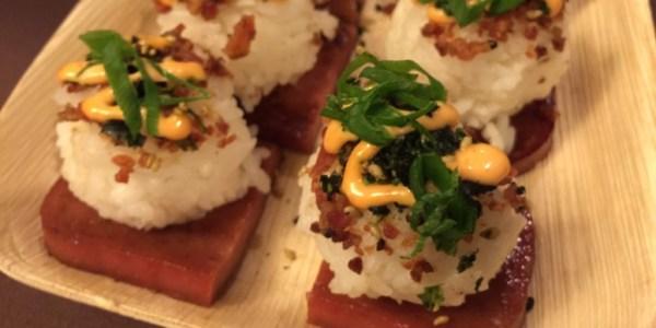 Jimmy Buffett's Spam and Rice Bites