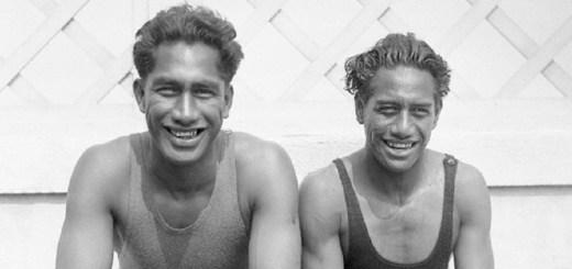 Duke & Sam Kahanamoku