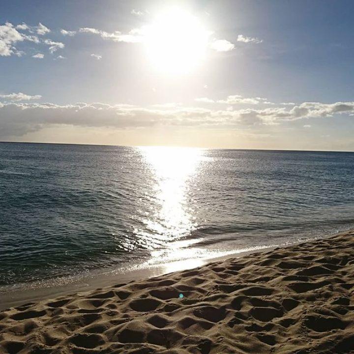 ナナクリの夕日#nanakuli #hawaii #ビーチ #ナナクリビーチ #ハワイ