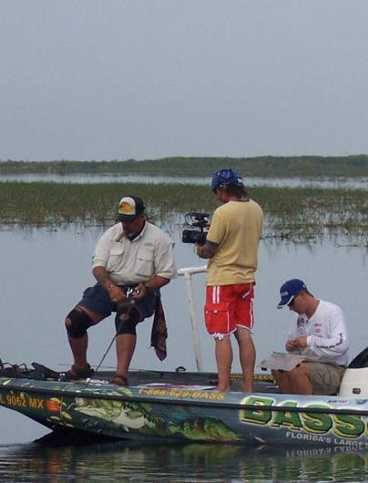 Espn2 rods wheels show on okeechobee for Lake okeechobee fish camps