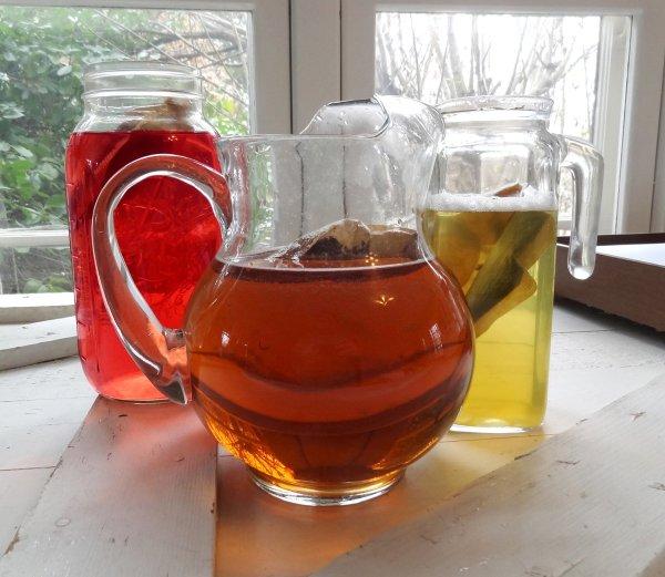 Cold Brewed Herbal Teas