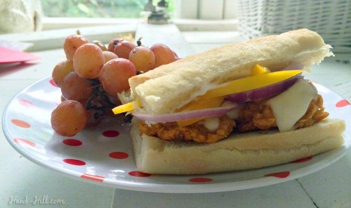 meatless meatball sandwich