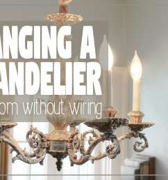 how to hang a chandelier in a room without wiring for an overhead light hawk hill [ 3360 x 2184 Pixel ]