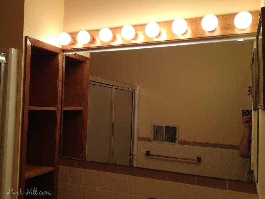 $300 Bathroom Remodel - Installing Shiplap or Paneling over