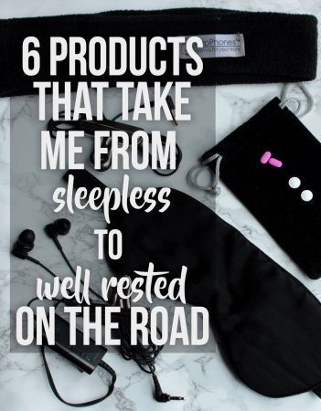 tips and products for sleeping on the road