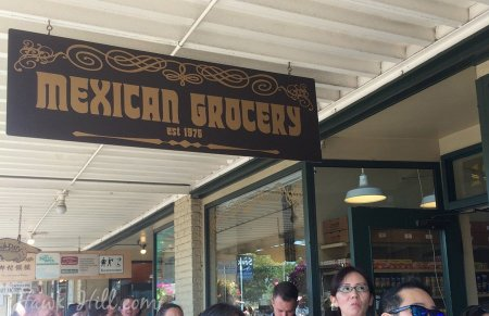 The mexican grocery next to Pike Place starbucks is legit