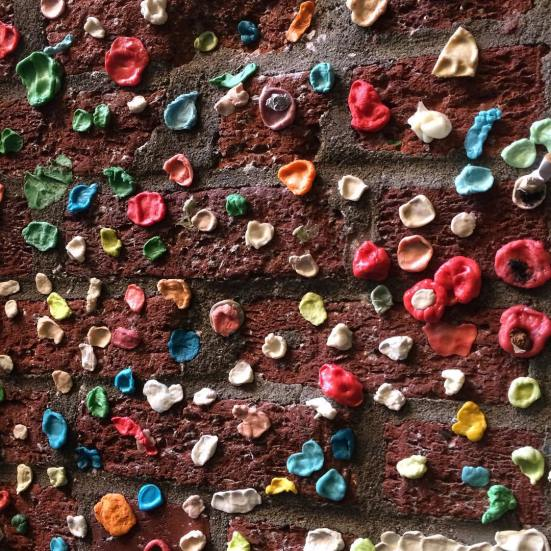 Pike Place's iconic gum wall regenerating after 2015 Cleaning