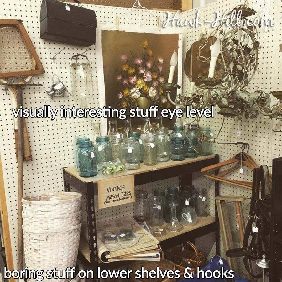 How to Succeed Running Flea Market Booth: 8 Things I did Differently