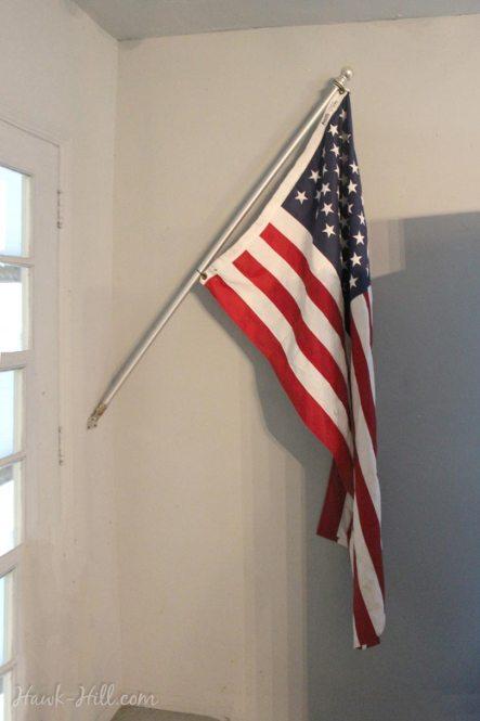 easy winter flag storage