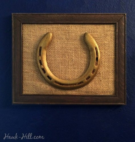 Instructions for preserving equestrian keepsakes for stylish decor.