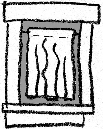 Doodle Illustration: How to Deal with a Window Behind your Bed