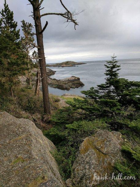 imagine pitching a hammock near a dramatic coastal vista like this one in the San Juan Islands