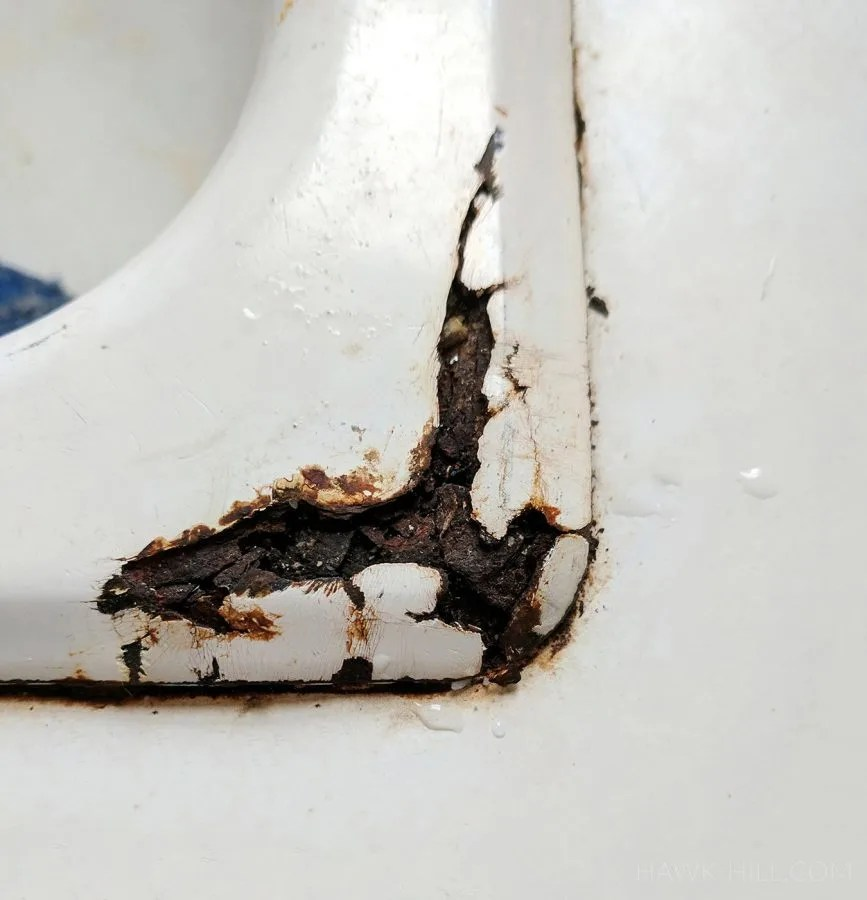 diy cast iron tub and sink repair how